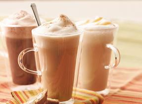 Caramel Vanilla Latté Steamer