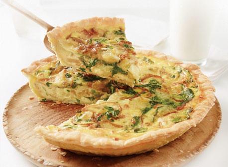Caramelized Onion, Arugula and Brie Tart Recipe