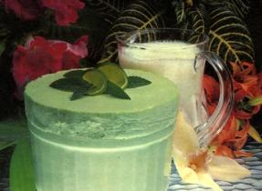 Caribbean Lime Soufflé