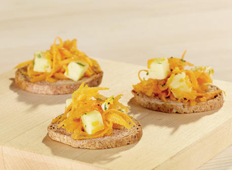 Carrot Salad with Cheddar Recipe