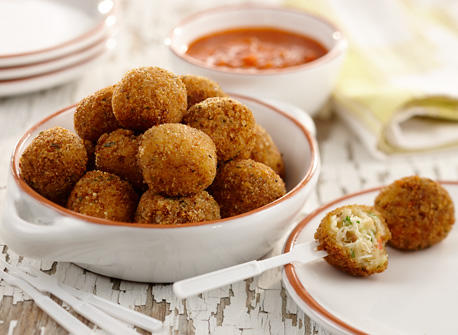Catalan-Style Crab Fritters Recipe