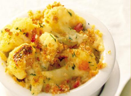 Cauliflower au Gratin recipe | Dairy Goodness