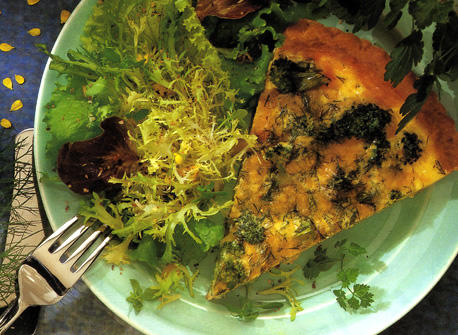 Cheddar and Broccoli Quiche Recipe