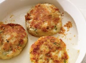 Cheddar and Cod Fish Cakes