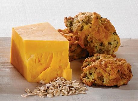 Cheddar and Zucchini Oatcakes Recipe