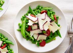 Cheddar & Chorizo Green Peas