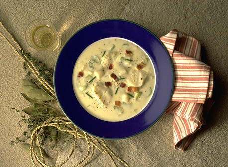 Cheddar Fish Chowder Recipe
