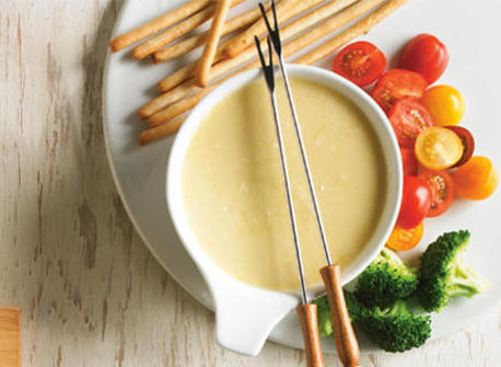 Cheddar mini-fondue Recipe