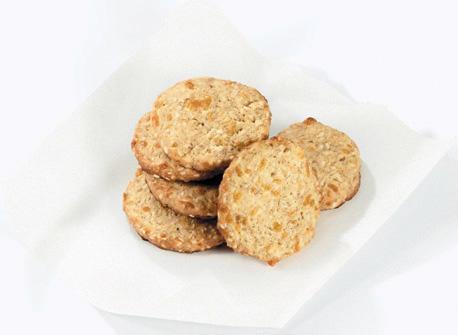 Cheddar Sesame Crisps Recipe