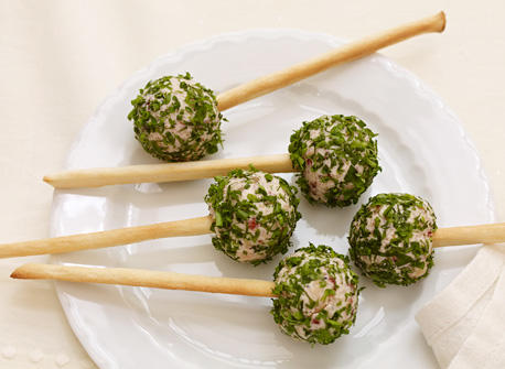 Cheese Ball Pops with Boursin®  Recipe