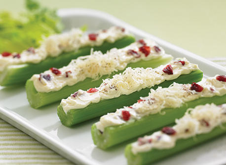 Cheese stuffed celery sticks Recipe