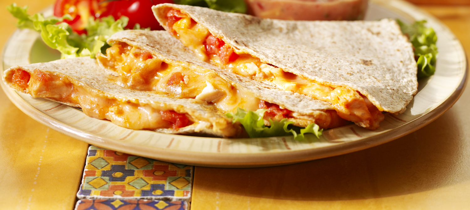 Cheesy chicken quesadillas recipe dairy goodness forumfinder Gallery