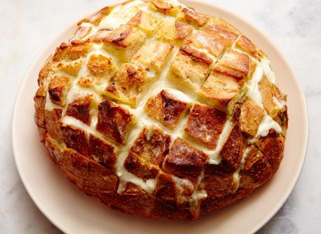 Cheesy pull-apart bread  Recipe