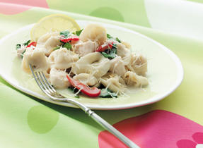 Chicken and Fresh Spinach Tortellini