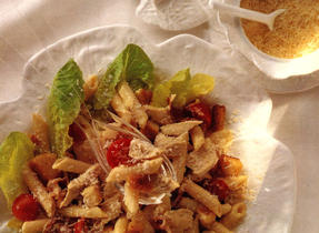 Chicken and Pasta Salad with Caesar Dressing