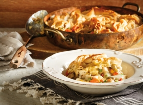 Chicken and Root Vegetable Pot Pie