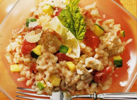 Chicken and Tomato Risotto Recipe