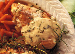 Chicken Breasts with Rosemary