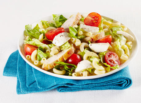 Chicken Caesar Mac & Cheese Salad  Recipe