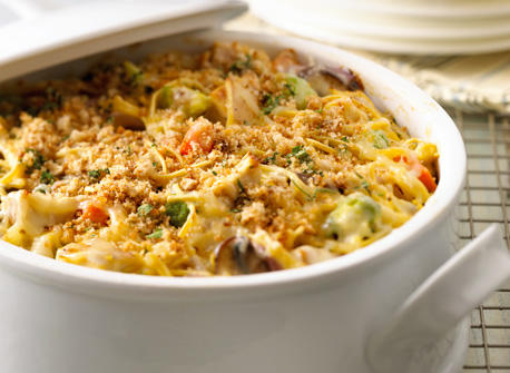Chicken Casserole with Canadian Monterey Jack (Cooking Club Size) Recipe