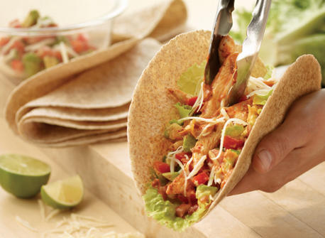Chicken Fajitas with Fresh Salsa Recipe