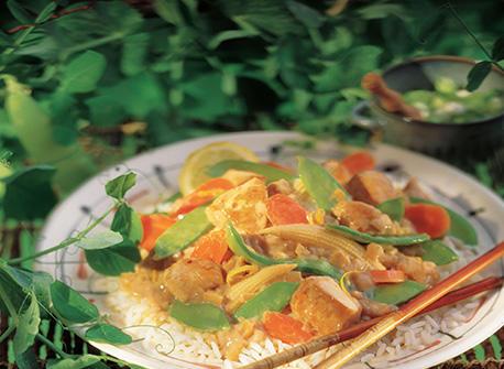 Chicken Lemon Stir-Fry Recipe