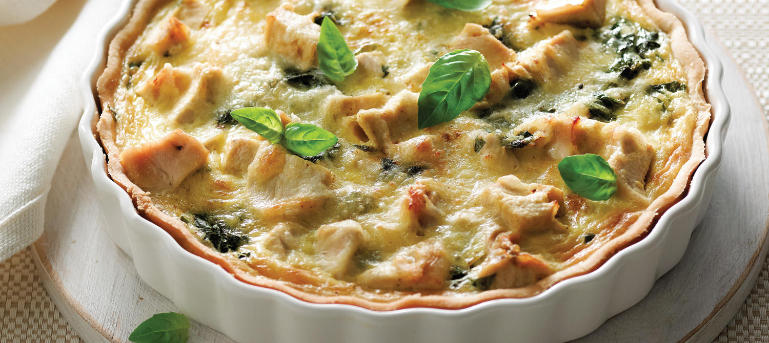 Quick Chicken And Vegetable Quiche Recipes — Dishmaps
