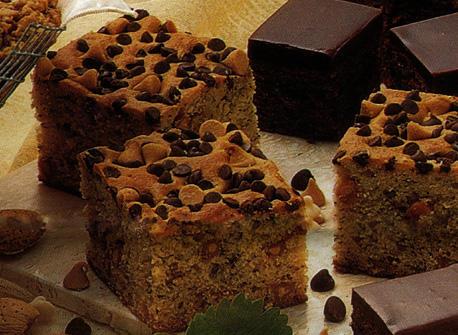 Choco-Nana Squares Recipe