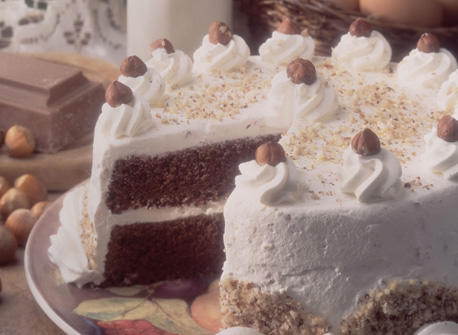 Disneyland  Layer Chocolate Hazelnut Cake
