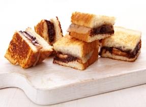Chocolate-banana Havarti grilled cheese