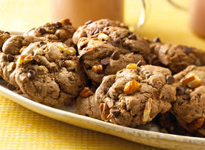 Chocolate Chocolate Chip Cookies (Cooking Club Size)