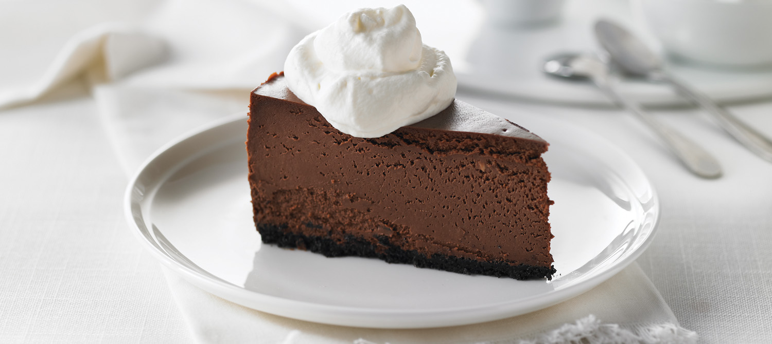 Chocolate Fudge Truffle Cheesecake recipe | Dairy Goodness