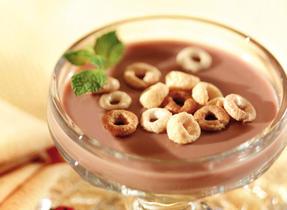 Chocolate Milk Jiggle Pudding