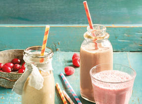 Chocolate Milk & P.B. Smoothie