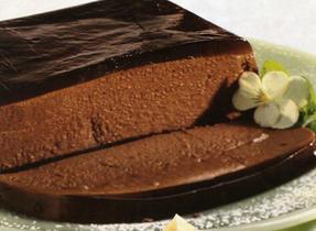 Chocolate Pâté with Coffee Aspic