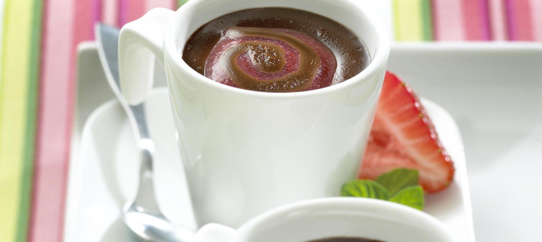 Chocolate And Vanilla Pot De Creme Recipe — Dishmaps