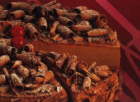 Chocolate rum & raisin cheesecake recipe | Dairy Goodness