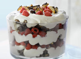 Chocolate Shortbread Trifle