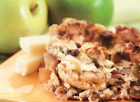 Cinnamon Apple Strata (Cooking Club Size)