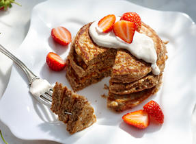 Cinnamon  Multigrain & Yogurt Pancakes
