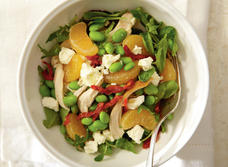 Citrusy Chicken Salad with Feta