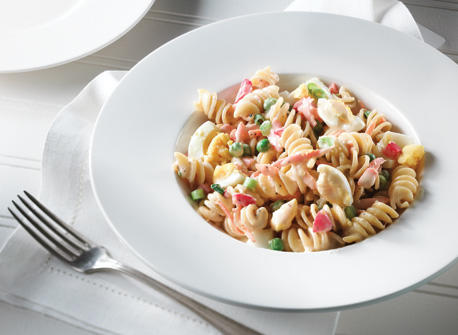 Classic Creamy Pasta Vegetable Salad Recipe