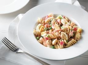 Classic Creamy Pasta Vegetable Salad