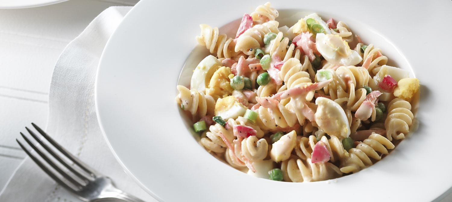 classic creamy pasta vegetable salad - Recipe of the day * 30 May 2013 *