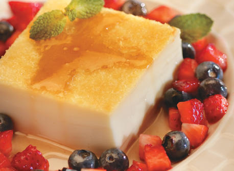 Classic Custard with Maple Syrup Recipe