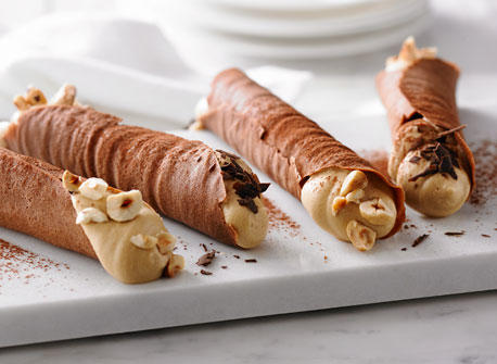Cocoa Coffee Cannoli Recipe