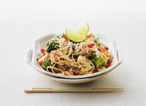 Coconut Curry Beef Noodles