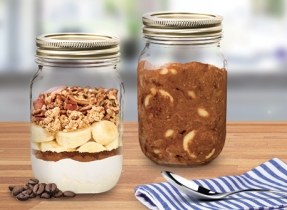 Coffee and Mascarpone Breakfast Parfaits