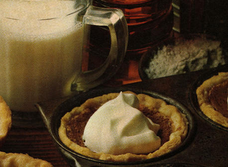 Colonial Maple Tarts Recipe