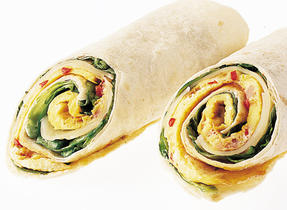 Come out of your shell with a Western Omelet Roll-up